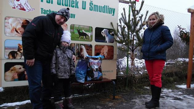 Vánoční čas v tachovském útulku U Šmudliny.