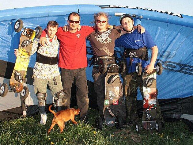 Landkiting, nový druh sportu na Tachovsku.