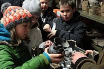 Na exkurzi do Muzea Českého lesa v Tachově zavítali účastníci kroužku mladých historiků.