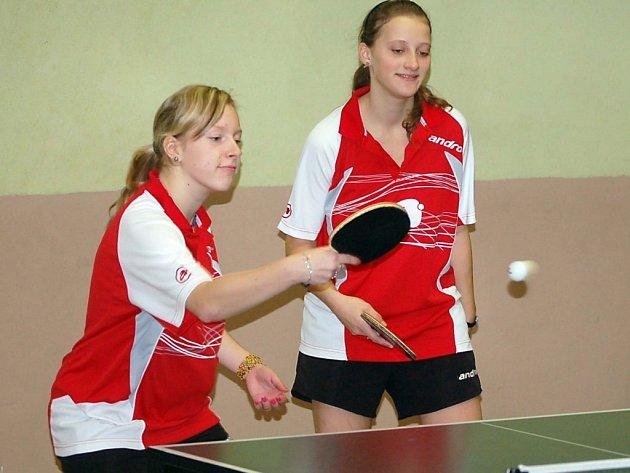 Před play–off divize žen ve stolním tenisu má S. Bor TeVo B výbornou pozici