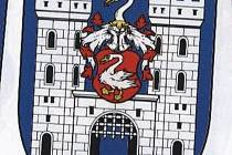 Znak města Bor.