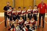 Tachovský tým Florbal Tachov 07 při turnaji v Praze.