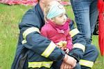 V Tachově se konal první ročník soutěže Nejtvrdší hasič přežije.