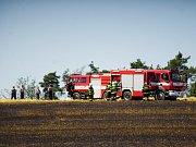 Mezi obcemi Sytno a Lhota u Stříbra došlo k požáru pole. Oheň se nakonec rozšířil na velikost devíti hektarů.