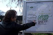RODINA Rajmů si plánku na tachovském hřbitově všimla, zanechává je to však v klidu.