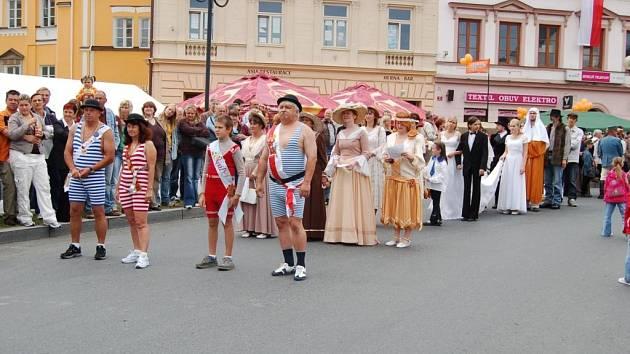 Tachovské historické slavnosti přilákaly tisíce návštěvníků.