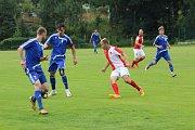 Z utkání FK Tachov - Slavia Karlovy Vary