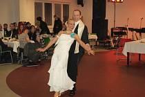V Boru se konal městský ples.