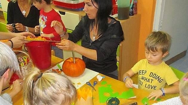 Tradiční podzimní akce v mateřince Sadová Tachov.