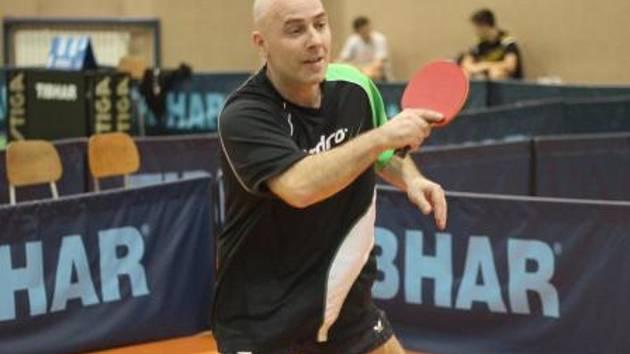 Opora druholigového A-týmu Sokola Bor Roman Belopotočan vybojovala v Praze tři a půl bodu.