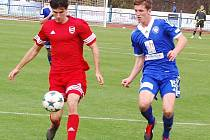 Mužstvo FK Tachov prohrálo ve čtrnáctém kole ČFL s Kolínem 0:1.