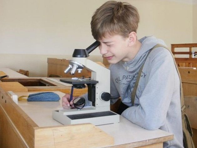 MLADÍ VČELAŘI ze Stříbra sbírali letos řadu úspěchů na různých soutěžích. Na snímku Matěj Frouz při soutěži Zlatá včela.