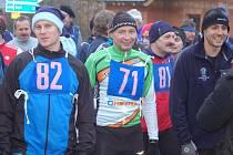Ve Stříbře se uskutečnil o Štědrém dnu dopoledne 25. ročník Vánoční míle