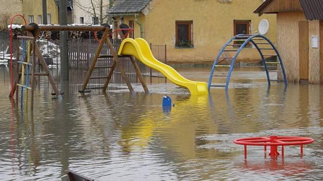 Povodně 2011 na Tachovsku.