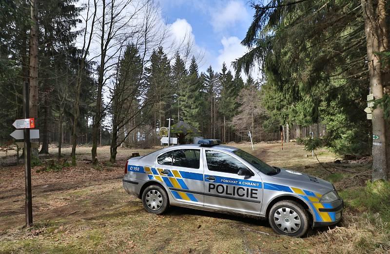 Situace na přechodech státních hranic na Tachovsku.