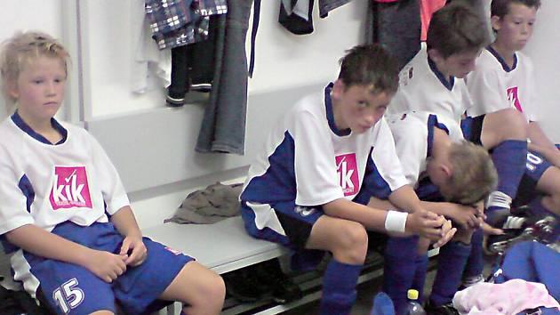 Mladší žáci hráli 3:3