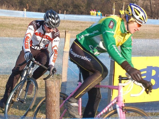 Cyklokrosový šampionát se jel ve Stříbře.