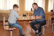 Plánská jídelna byla dějištěm šachystyckých závodů.