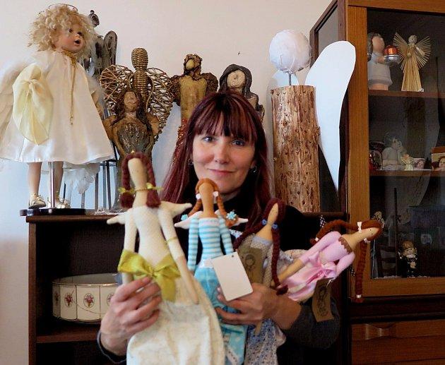 Černošínské muzeum připravuje výstavu andělů. Těch se zatím sešlo několik desítek zcelého Tachovska.