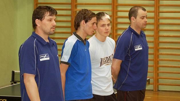 Borští stolní tenisté nedali soupeři šanci.