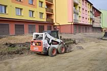 Rekonstrukce ulice přinese nová parkovací místa.