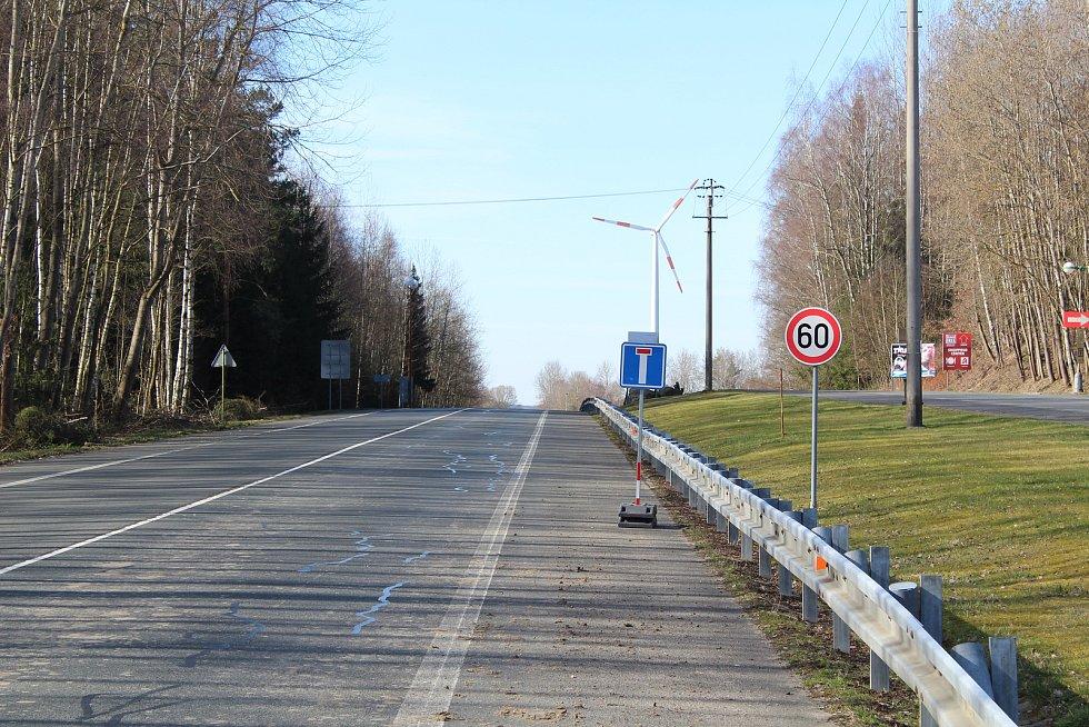 Areál na starém hraničním přechodu v Rozvadově.