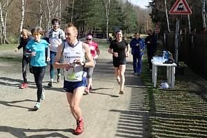 Maraton a půlmaraton okolo přehrady Hracholusky.