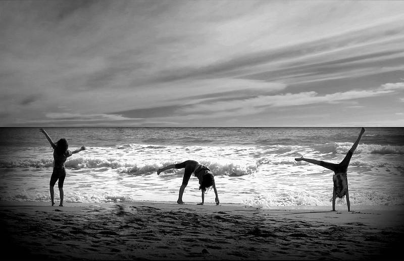 Libuše Kilarská: Gymnastika na pláži