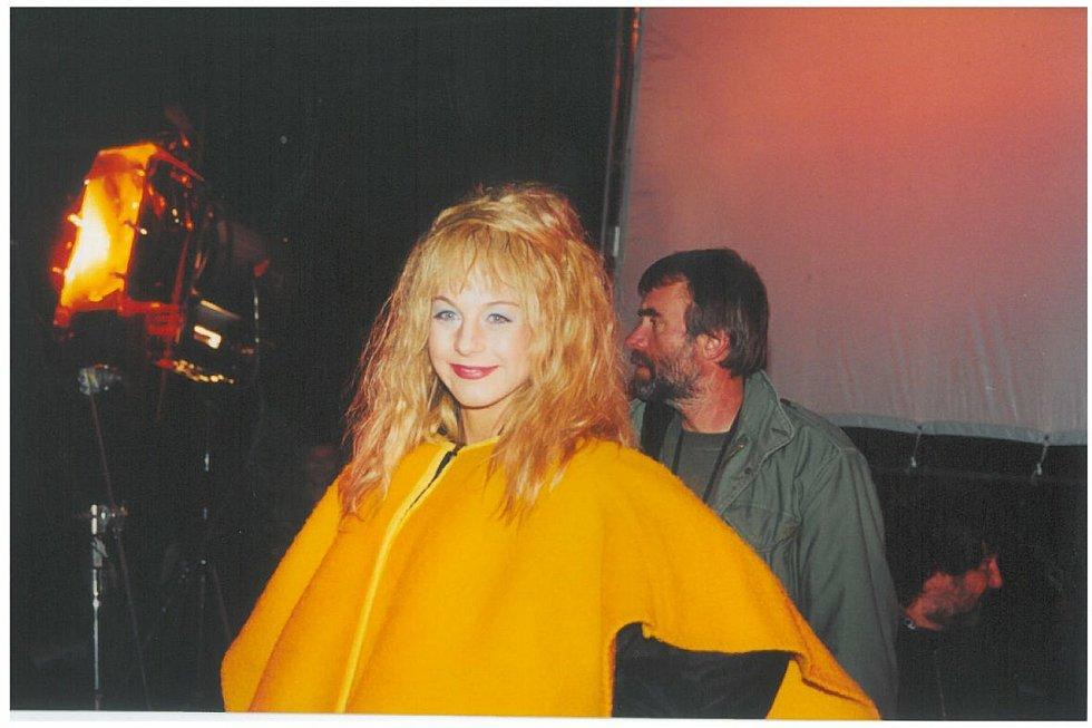 Z natáčení pohádky Z pekla štěstí 2 před dvaceti lety. Foto: Vladimír Vítek