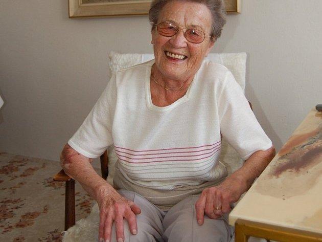 MARIE PLESAROVÁ. Dodnes na ni v dobrém vzpomínají žáčci, které učila první písmenka a slabiky.