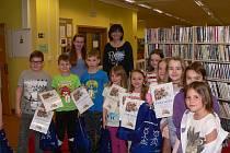 Děti prožily v tachovské knihovně Noc s Andersenem.