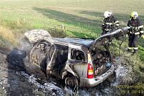Nehoda u Holostřev.