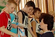 V tachovské sportovní hale se konal celookresní Jarní pětiboj žáků základních škol.