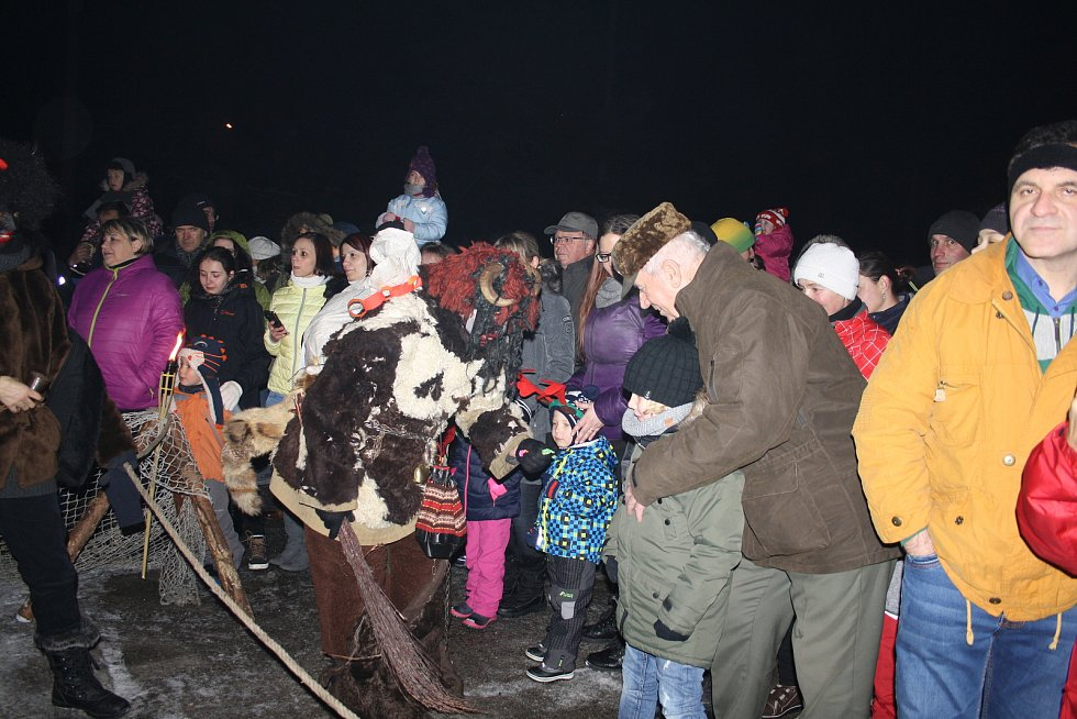 PÁN PEKEL S ČERTY doprovodili Mikuláše a anděla na návštěvu do Přimdy.