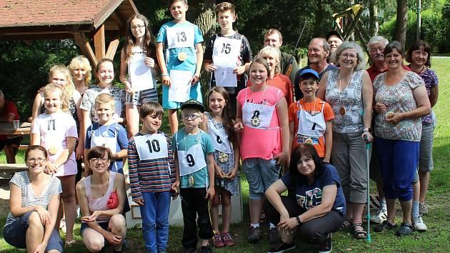 V Labuti soutěžily děti v dvojboji.
