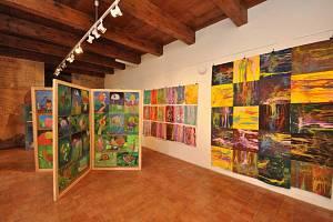 Stříbrské muzeum vystavuje práce žáků ZUŠ Stříbro.