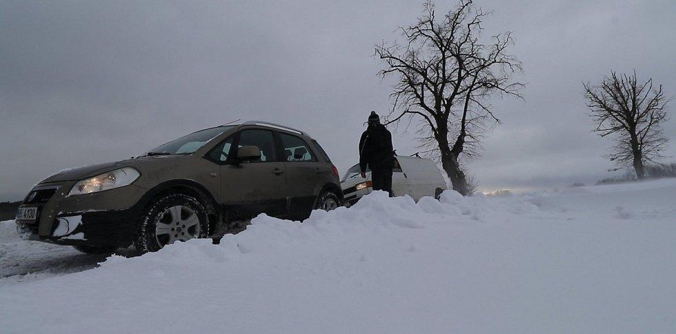 Zaváté silnice nad Tachovem.