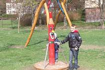 Jindra Juhás z Plané si nejvíce oblíbil trampolínu, lanovku, ale ostatní atrakce také vyzkoušel.