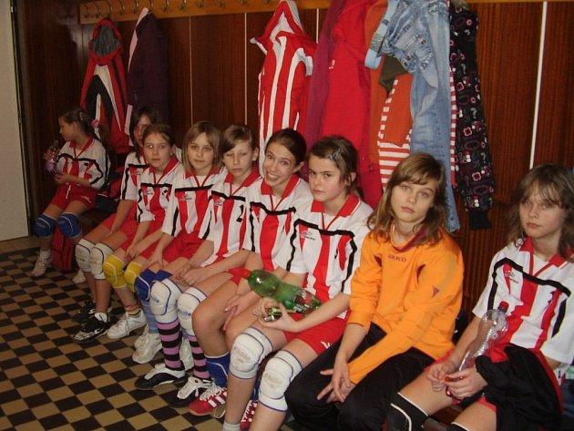 Družstvo Slavoje Tachov odehrálo v hale Lokomotivy Cheb pět zápasů.
