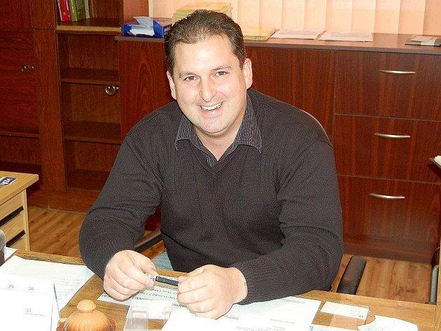 JIŘÍ ŠMEJKAL. Nový starosta obce Zadní Chodov je zároveň jedním z nejmladších starostů na Tachovsku.