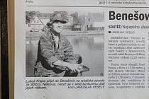 Z archivu Deníku: Benešovičtí chytali ryby...