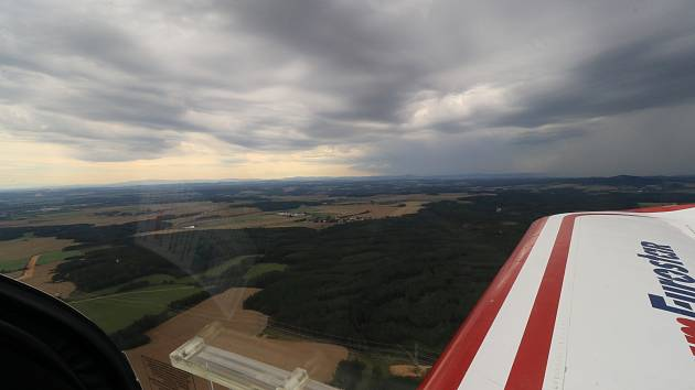 Z letiště Erpužice a okolí...