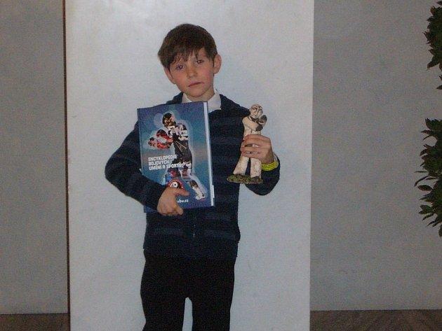 Sedmiletý Lukáš získal uznání za titul mistra světa.