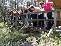 Obdivovali přírodní krásy v okolí Lesné