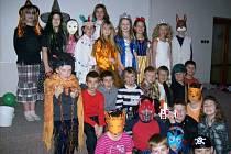 Děti z družiny ZŠ Hornická měly svůj maškarní rej.