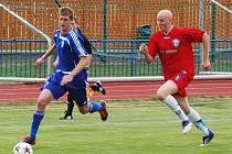 Fotbal-divize: Aktuálně třetí tým tabulky, FK Tachov, deklasoval doma Zličín 6:0