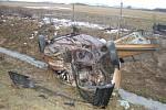 Tragická dopravní nehoda u Brodu nad Tichou