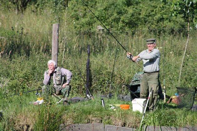 Rybářské závody přilákaly přes dvacet lovců