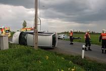 Nehoda na Kříženci.