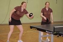 O extraligové body ve stolním tenisu hrály borské ženy, stínem je zranění Radky Kaba